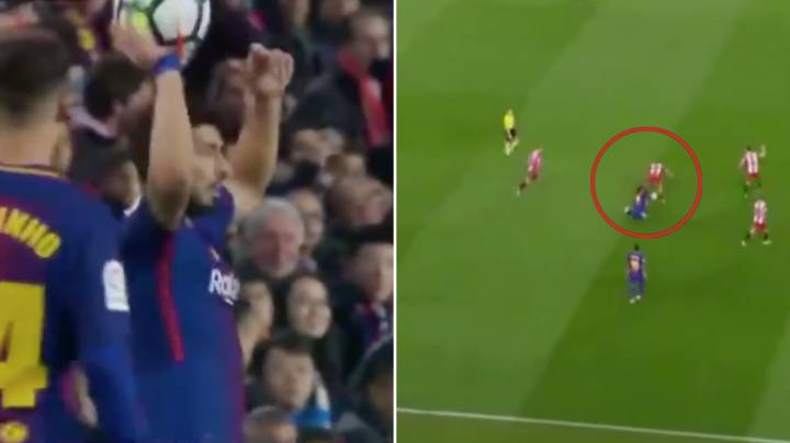 Luis Suarez Literally Spent Five Minutes Trying To Get A Yellow Card And Failed