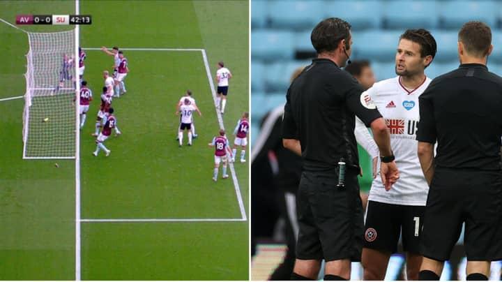 Hawk-Eye Release Official Statement On Goal Line Incident During Aston Villa Vs. Sheffield United