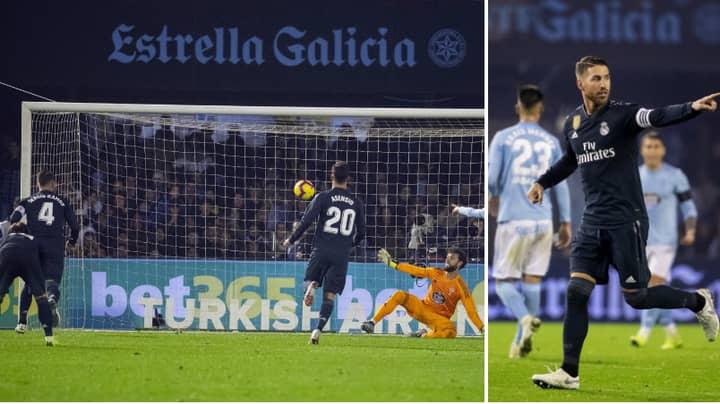 Sergio Ramos Has Made A Promise Regarding His Penalties