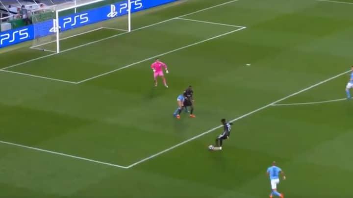 Lyon's Maxwel Cornet Scores Superb Goal Against Manchester City In The Champions League