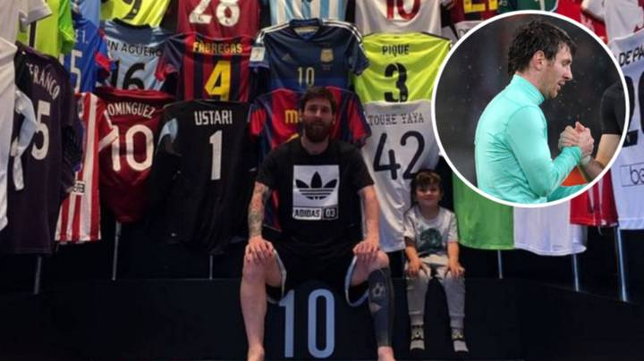 The Surprise Player Lionel Messi Asked To Swap Shirts With