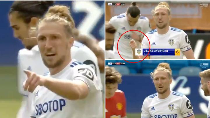Luke Ayling Tells Linesman To 'Stop Waiting For VAR' And 'Use The Flag You've Been Given'