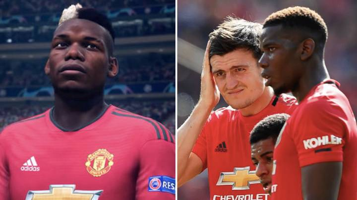 Manchester United's Starting XI On FIFA 20 Shows Their Fall From Grace
