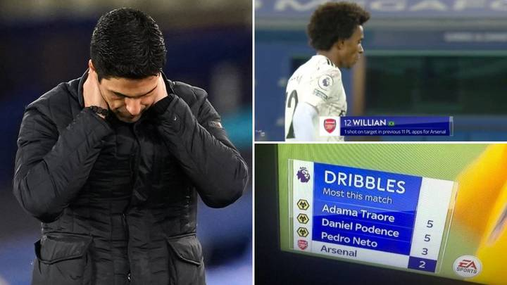 Arsenal's Horrific Season Perfectly Summed Up By Sky Sports 'Personal Vendetta' Statistics