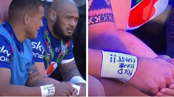 Kane Evans In Hot Water For 'Fold Some C**t' Wrist Tape