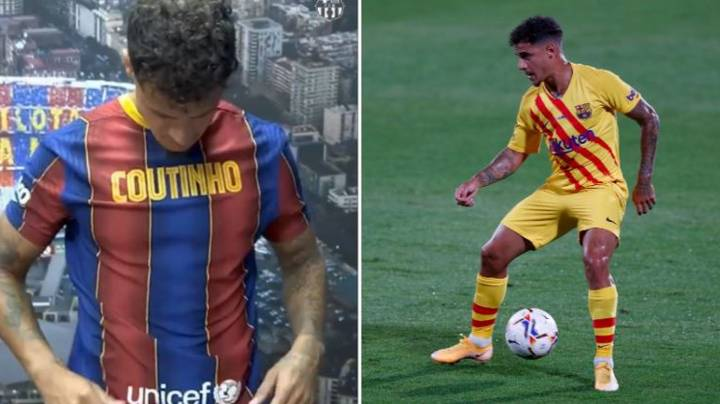 Philippe Coutinho New Number At Barcelona Suggests He's Staying