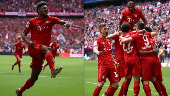 Bayern Munich Crowned 2018/19 Bundesliga Champions