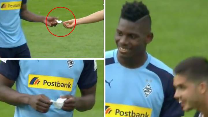 Breel Embolo Fooled By Andre Silva With Fake Note