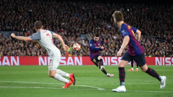 Lionel Messi Has Scored The Most Goals Outside Of The Box Since 2007/08