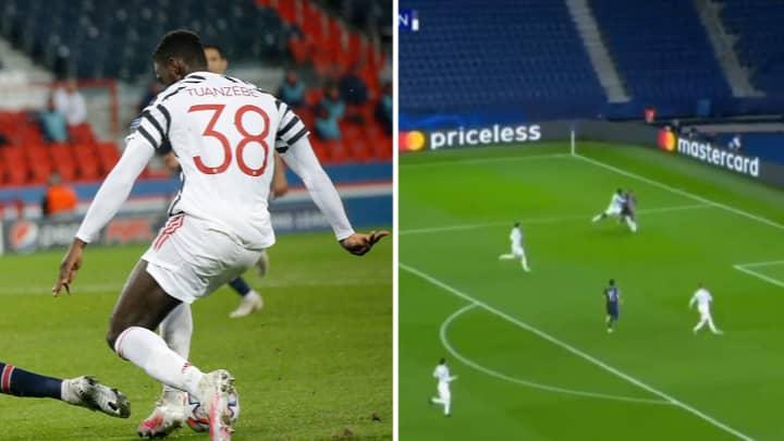 Axel Tuanzebe Pockets Kylian Mbappe In Defensive Masterclass Against Paris Saint-Germain