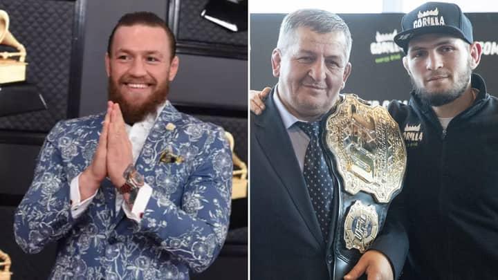 Conor McGregor Makes Shocking Claim About Health Of Khabib Nurmagomedov's Dad