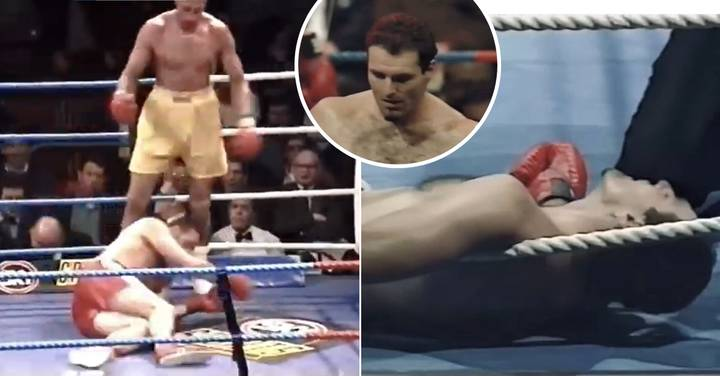 Shocking Footage Shows Tyson Fury's Dad John Fury Suffered Two Brutal KO Defeats
