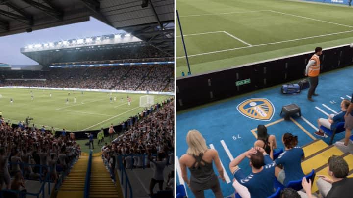 Incredible Leaked Screenshots Show Leeds United's Elland Road In FIFA 21