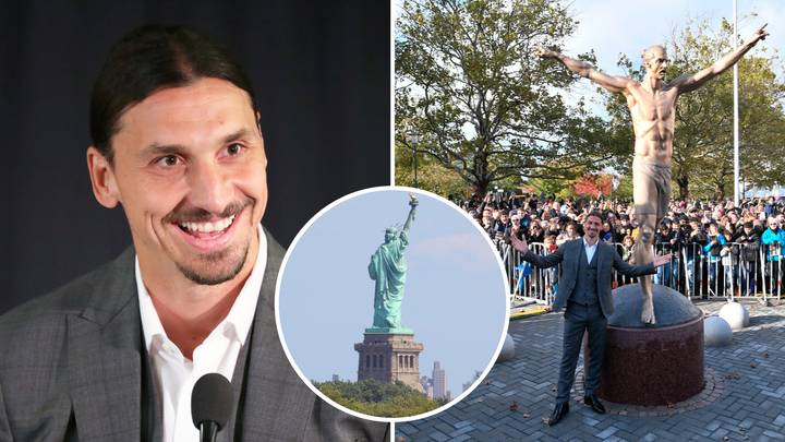 Zlatan Ibrahimovic: 'New York Has The Statue Of Liberty And Sweden Has The Statue Of Zlatan'
