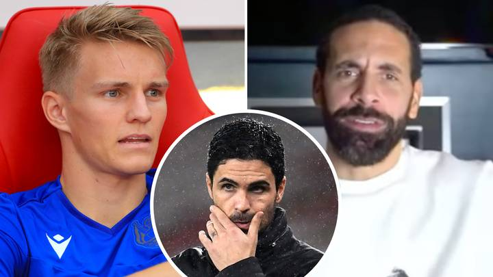 Man United Legend Rio Ferdinand Sends Out Warning To Arsenal Ahead Of Martin Odegaard's Arrival