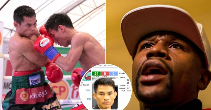 Retiring 'Dwarf Giant' Has Knocked Floyd Mayweather Out Of Boxing's Record Books
