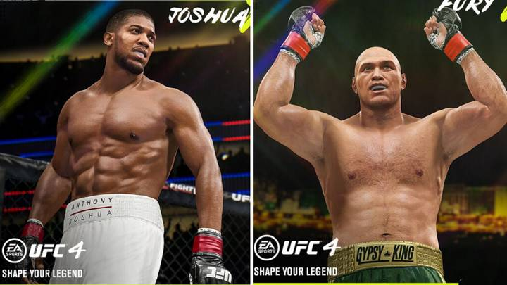 Tyson Fury And Anthony Joshua Are Playable Fighters In EA Sports UFC 4