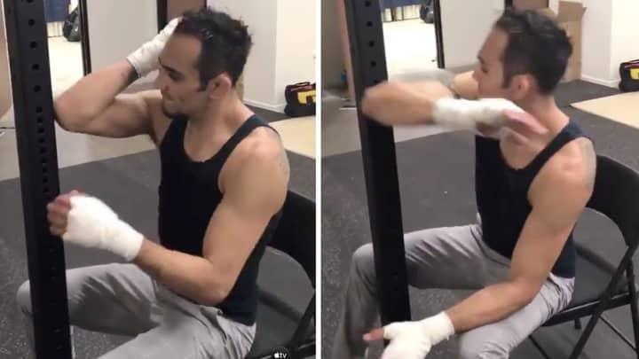 Tony Ferguson Elbows Metal To Make His Bones Harder