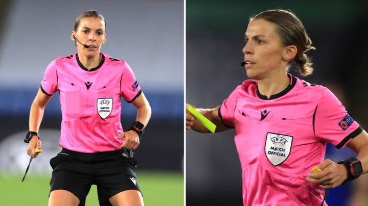 Stephanie Frappart Will Become The First Woman To Referee A Men's Champions League Game