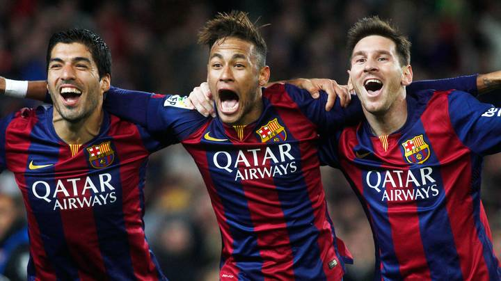 Video Proves 'MSN' Are The Greatest Footballing Trio Of All-Time