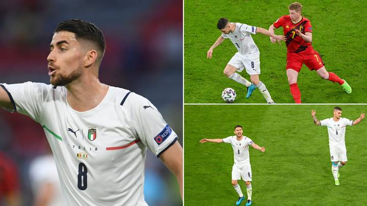 Jorginho Completed 70 Out Of 71 Attempted Passes In Midfield Masterclass Vs Belgium