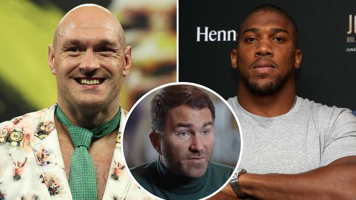 Eddie Hearn Claims Tyson Fury's Boxing Record Is 'Laughable' Compared To Anthony Joshua's Opponents