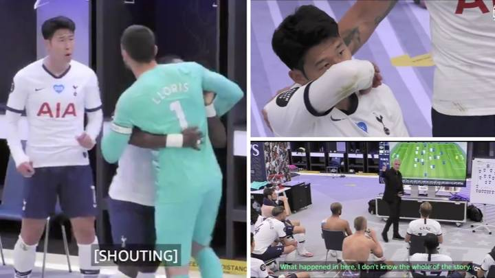 New Dressing Room Footage Shows Things Got Seriously Heated Between Son Heung-Min And Hugo Lloris