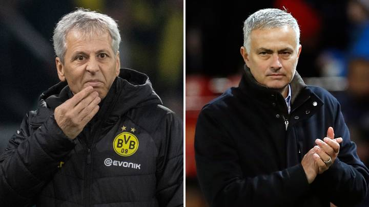 Jose Mourinho Lined Up To Replace Lucien Favre At Borussia Dortmund