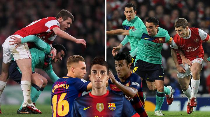 How Jack Wilshere Compares To Barcelona B Players Nine Years On