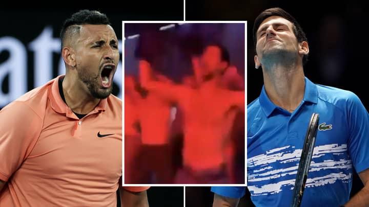 Nick Kyrgios Reacts To Novak Djokovic Testing Positive For Coronavirus