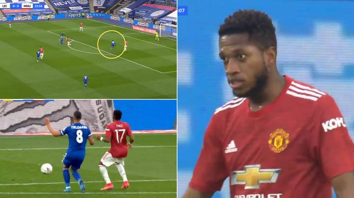 Fred's Shocking Back Pass To Dean Henderson Gifts Kelechi Iheanacho Goal
