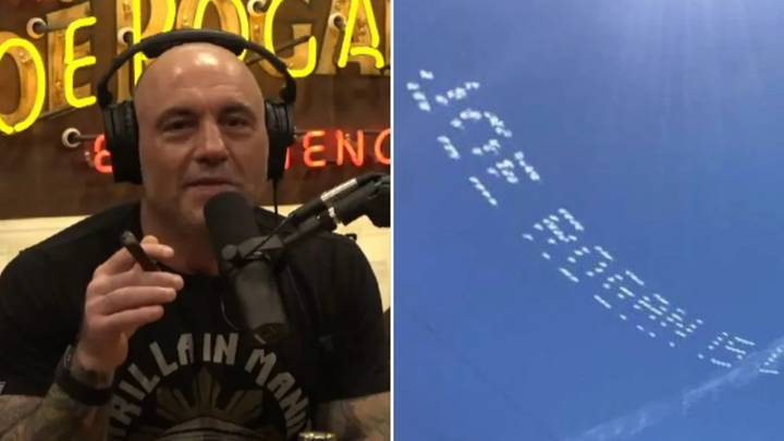 Joe Rogan Has Been Ruthlessly Trolled By A Sky-Writing Stunt Costing Thousands Of Dollars