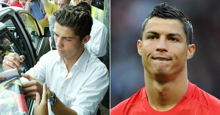 Cristiano Ronaldo Had His Arsenal Shirt And Number Agreed Before Transfer