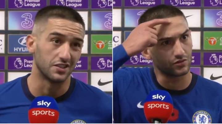 Chelsea Fans Compare Hakim Ziyech To Eden Hazard After Post-Match Interview