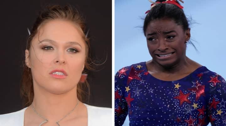 UFC Legend Ronda Rousey Goes To Town On Simone Biles Critics