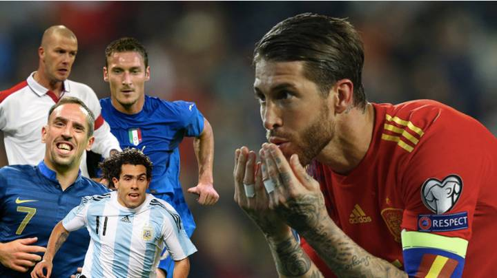 Sergio Ramos Has Scored More International Goals Than Some Of The All-Time Greats