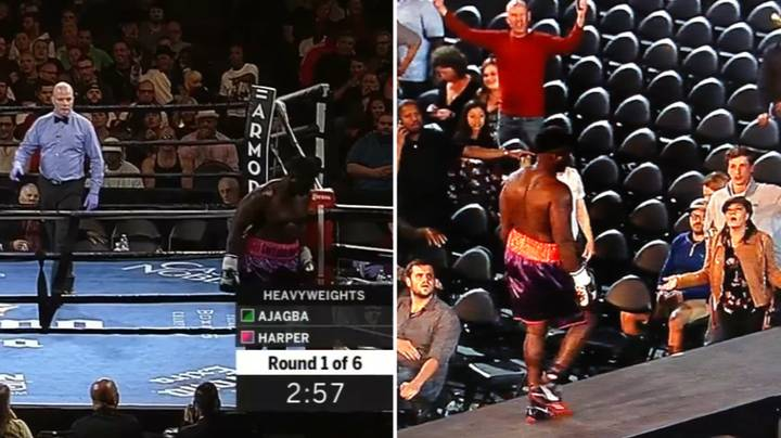 When A Heavyweight Boxer Incredibly Left The Ring Seconds After The Bell