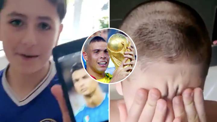 Son Asks Dad For Haircut Like Cristiano Ronaldo, Gives Him 'R9' Ronaldo Instead