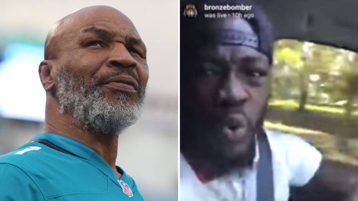 Deontay Wilder Called Out Mike Tyson's Boxing Record In An Astonishing Instagram Live Rant