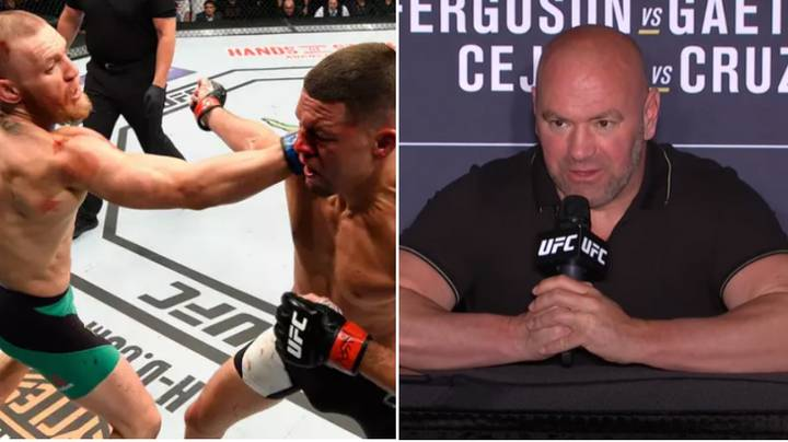UFC President Dana White Gives Update On Conor McGregor Vs. Nate Diaz Trilogy Fight