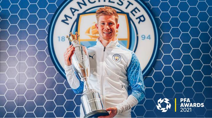 Kevin De Bruyne Beats Harry Kane And Ruben Dias To PFA Player Of The Year