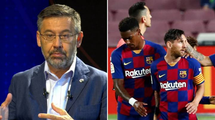 Barcelona President Josep Bartomeu Has Been Accused Of Corruption By Police