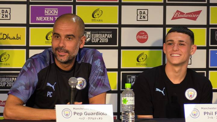 Pep Guardiola Claims Phil Foden Will Never Be Sold - Not Even For €500 Million