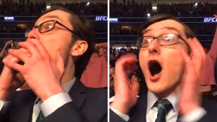 Blogger's Hilarious Live Reaction To Conor McGregor Vs Donald Cerrone Goes Viral
