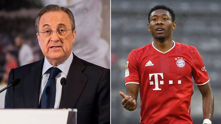 Real Madrid Are Paying David Alaba A Whopping £412,000-A-Week