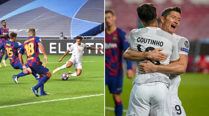 Philippe Coutinho's 2011 Tweet Goes Viral After Scoring Brace In Bayern Munich 8-2 Thrashing Of Barcelona