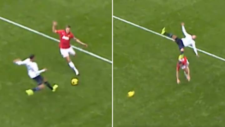 Nemanja Vidic's Bone-Crunching Challenge On Kyle Walker Is Still The Best In Premier League History