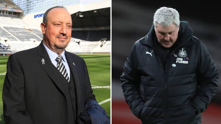 Newcastle United Fans Call For Return Of Rafa Benitez