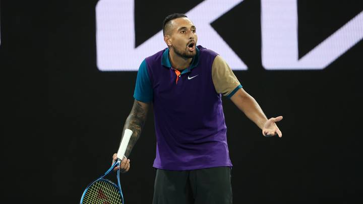 Nick Kyrgios Shouts 'Tell Your Girlfriend To Get Out Of My Box' In The Middle Of A Match
