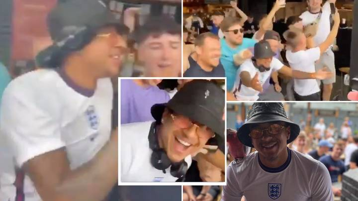Jesse Lingard Watched England's Match In A Beer Garden And Held A DJ Session